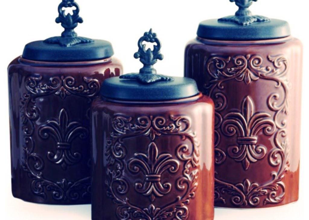 Image Of Americana Kitchen Canister Sets
