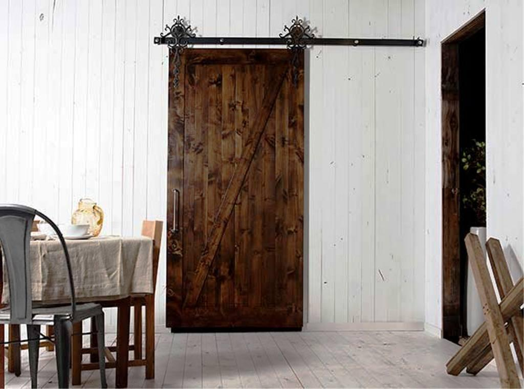 Image Of: Barn Sliding Door Hardware