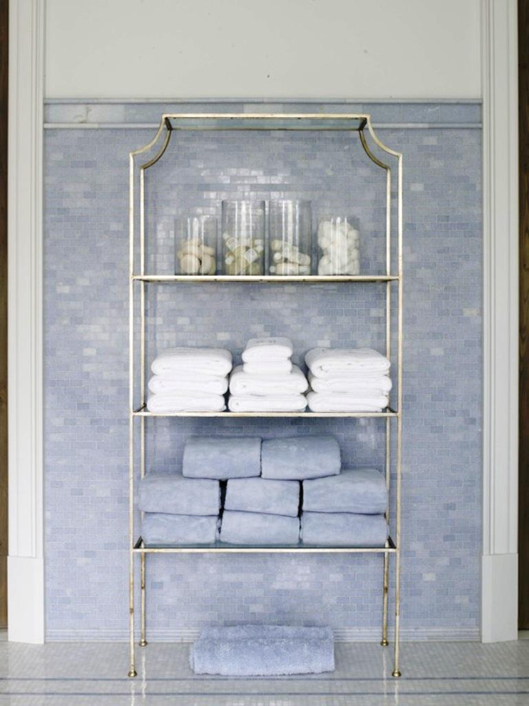 bathroom etagere storage designs - Bathroom Etagere