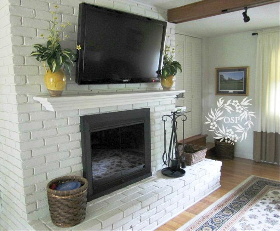 Image Of Brick Fireplace Remodel Ideas