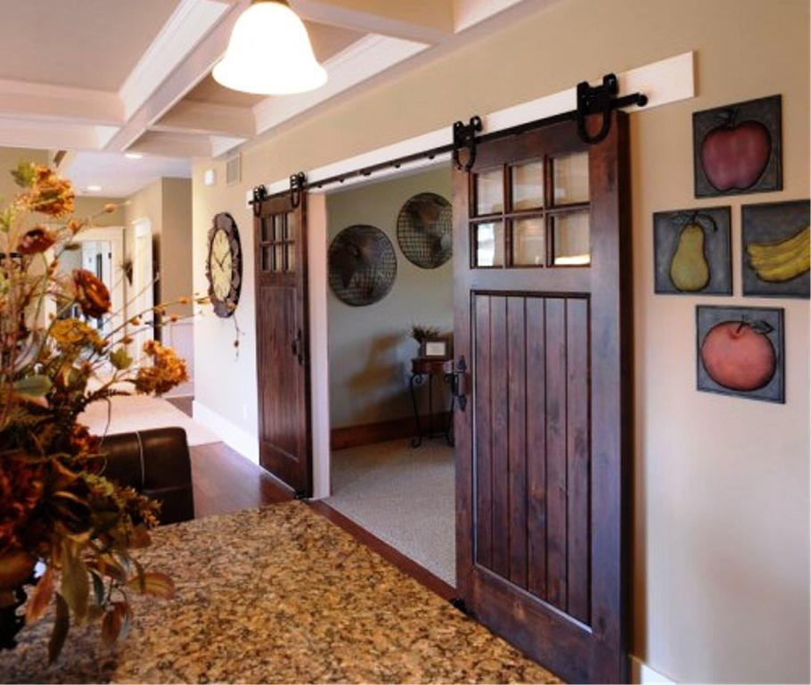 Genial Image Of: Custom Sliding Barn Doors Interior