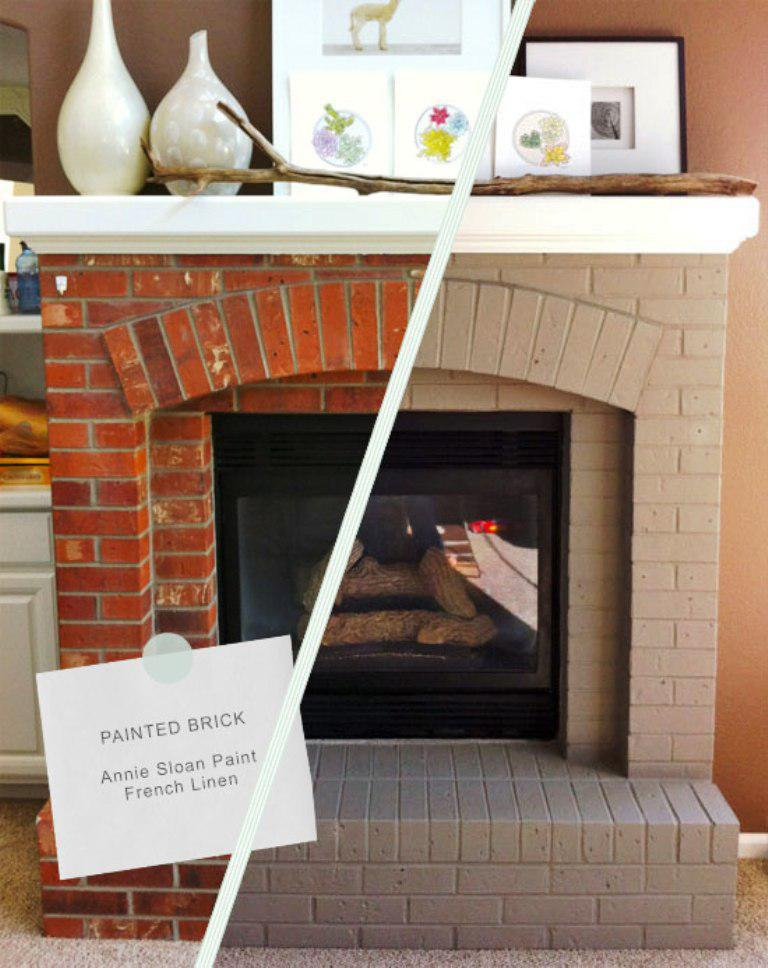 Image Of Fireplace Remodels Before And After Makeovers Ideas
