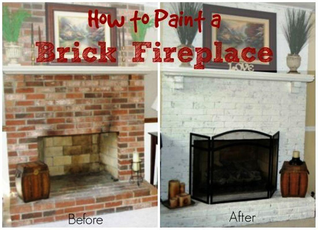 Enjoyable Easy Brick Fireplace Makeover Ideasjayne Atkinson Homes Home Interior And Landscaping Sapresignezvosmurscom