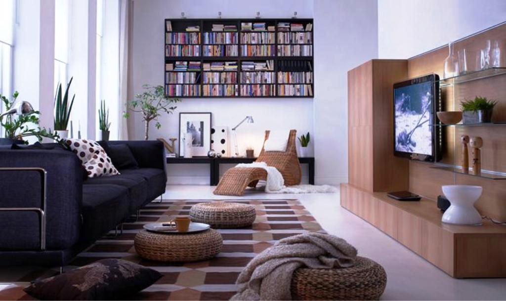 Image Of: IKEA Living Room Decorating Ideas Pictures
