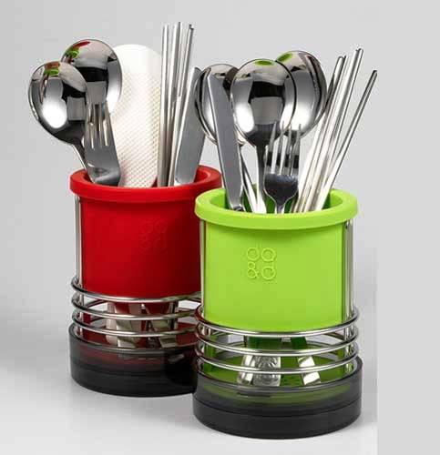 spoon and fork holder