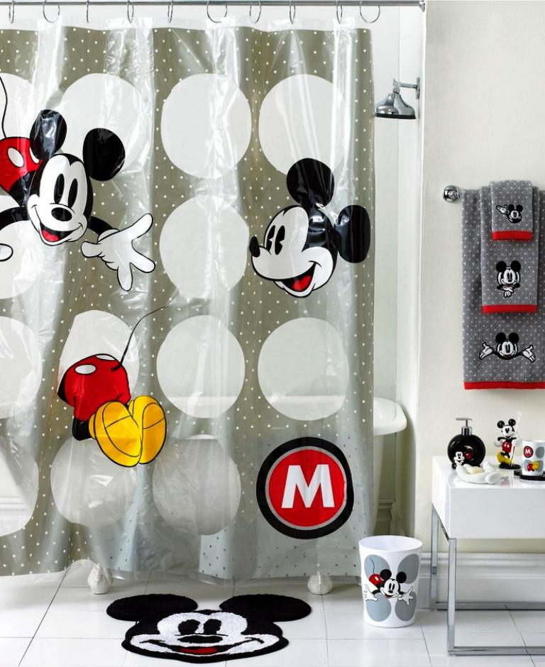 Image Of Mickey Mouse Bath Accessories