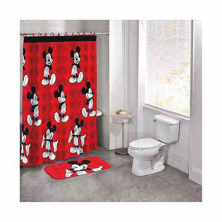 Image Of Mickey Mouse Shower Curtain