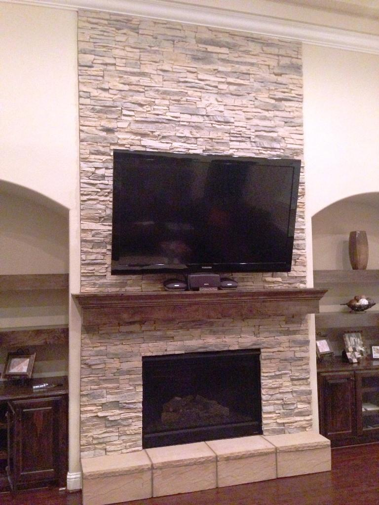 Stacked Stone Wall Tile Jayne Atkinson Homesjayne Atkinson Homes