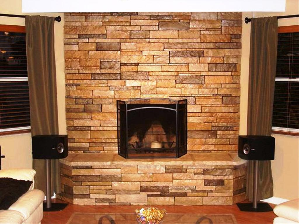 Fine Diy Stacked Stone Fireplace Ideasjayne Atkinson Homes Interior Design Ideas Inesswwsoteloinfo