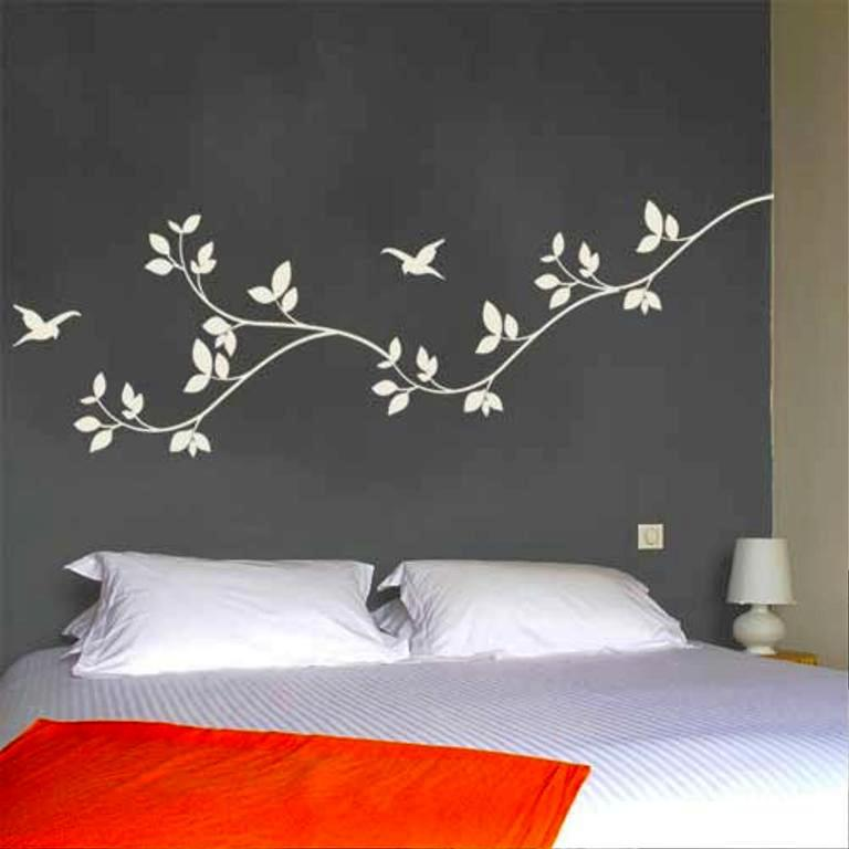 How To Decorate With Wall Stickers For Bedroomsjayne Atkinson Homes