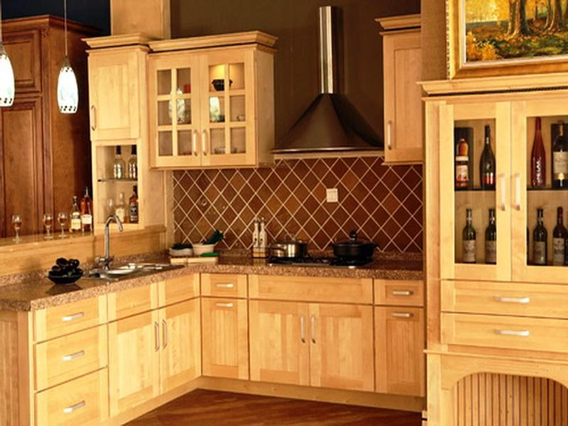 Beau Image Of: Lowes Kitchen Cabinets Maple