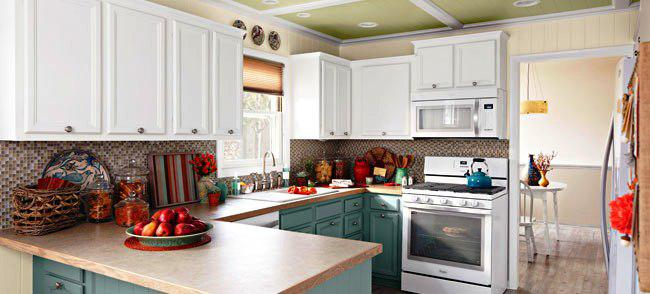 How to diy repainting kitchen cabinets