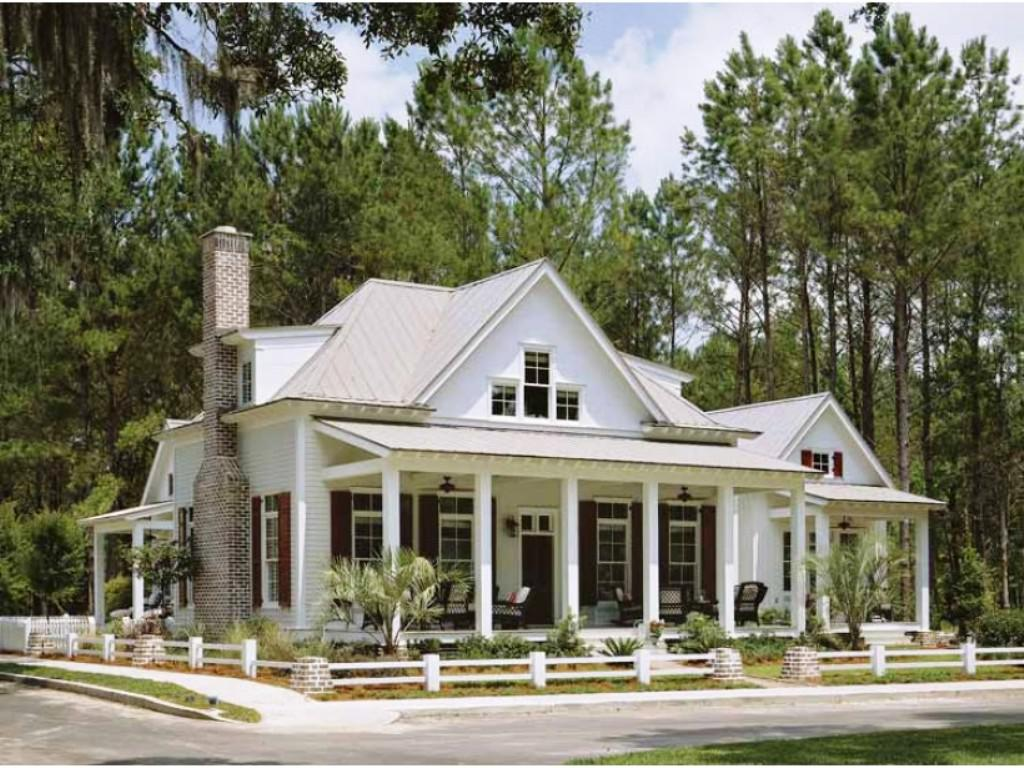 Perfect Image Of: Cozy Small Southern House Plans With Porches