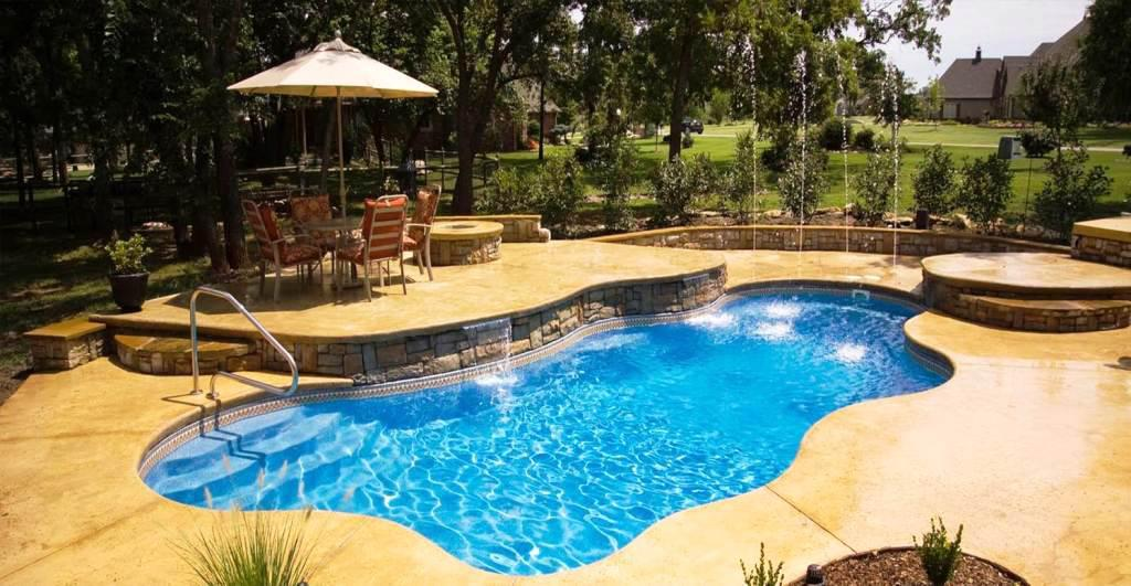 Image Of: Best Design Inground Pools Prices Installed
