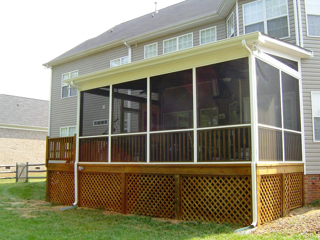 Image Of Screened In Back Porch Ideas
