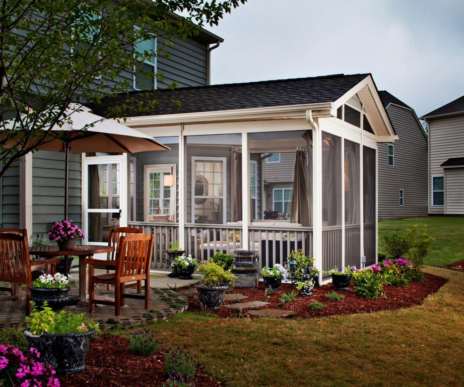 Image Of Front Porch Decorating Ideas White Furniture Set