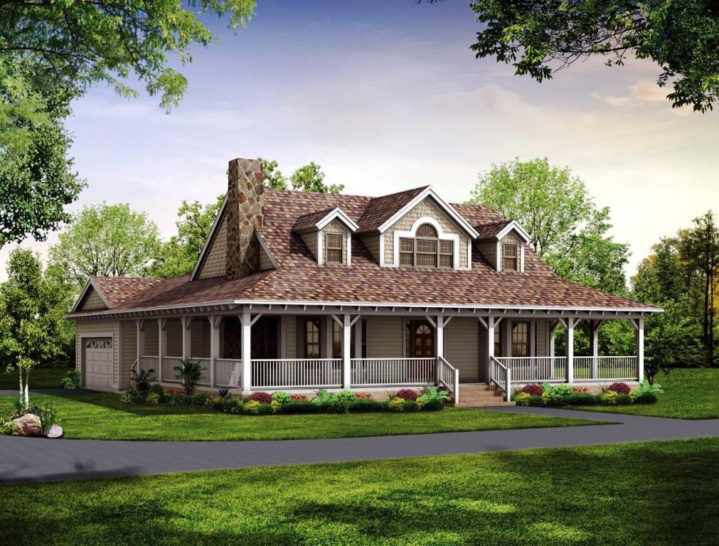Image Of: Southern Small Farmhouse Plans With Porches