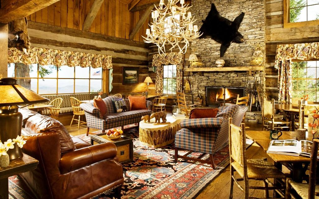 Image Of Country Living Rooms And Rustic