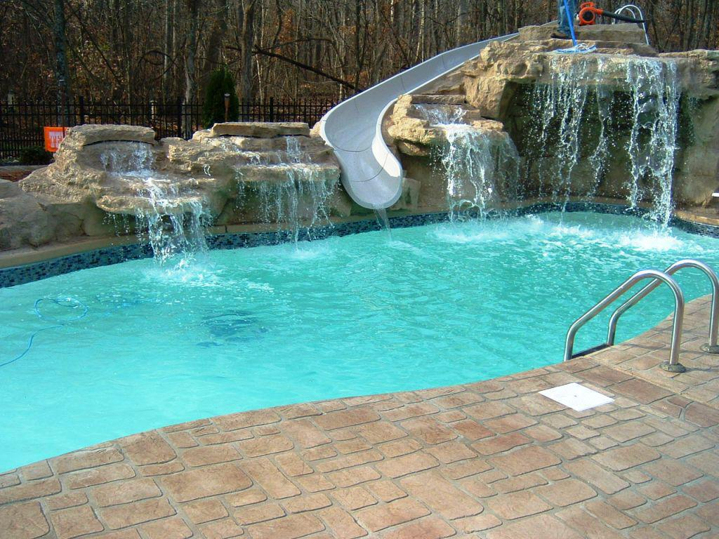 Image Of Fiberglass Above Ground Pools For Sale