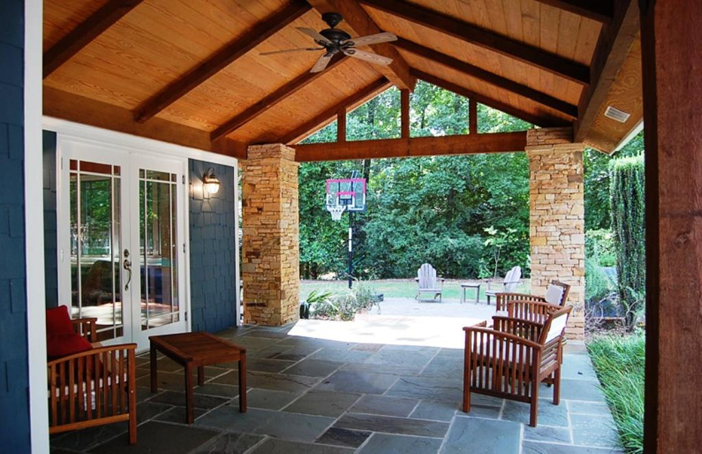 Image Of: Back Porch Designs Ideas