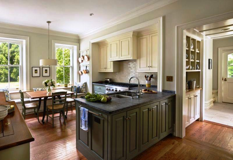 Contemporary Style Two Tone Kitchens Ideas Jayne Atkinson