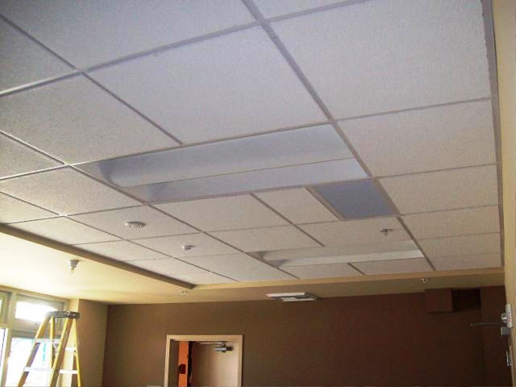 Image of drop ceiling tiles 2x4 panels