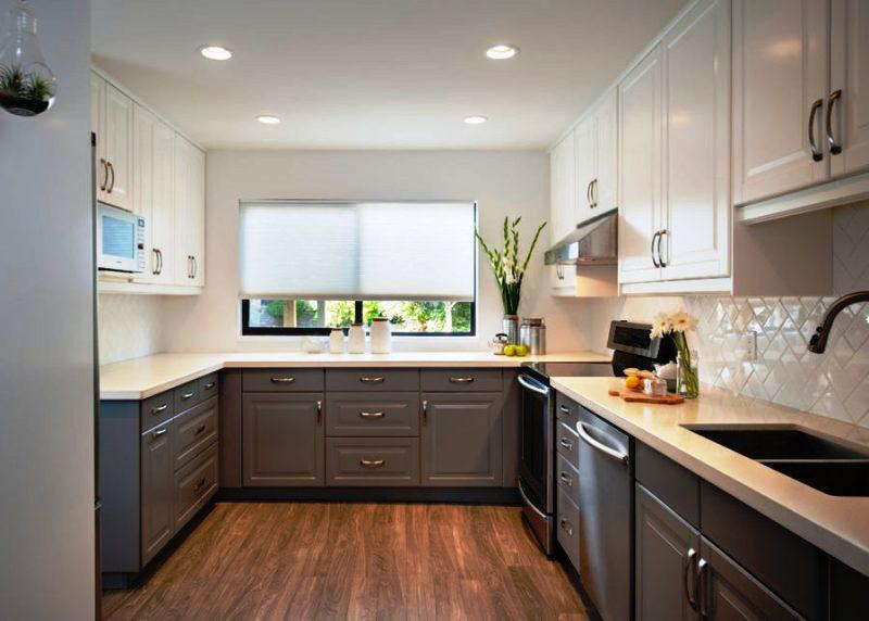 Small Two Tone Kitchens Design Ideas Jayne Atkinson Homesjayne