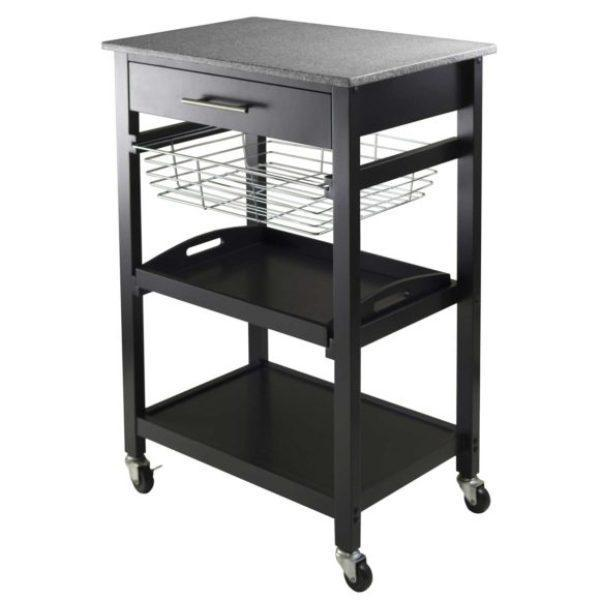 Image Of: Wire Kitchen Cart Lowes