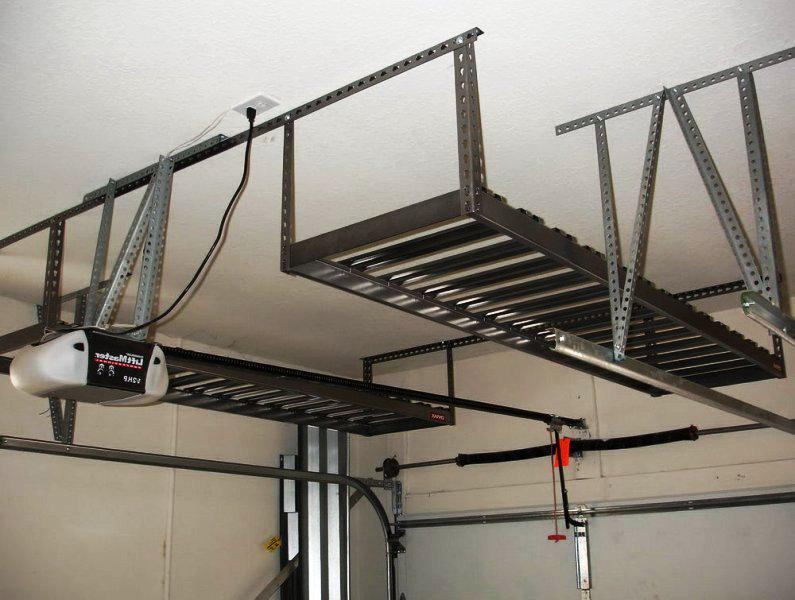 Image Of: Awesome Garage Ceiling Storage Ideas