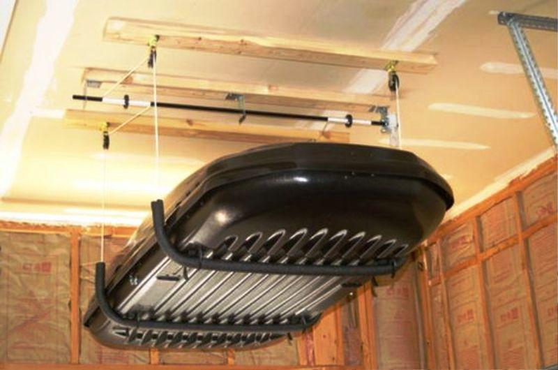 Charmant Image Of: Garage Ceiling Storage Do It Yourself Systems