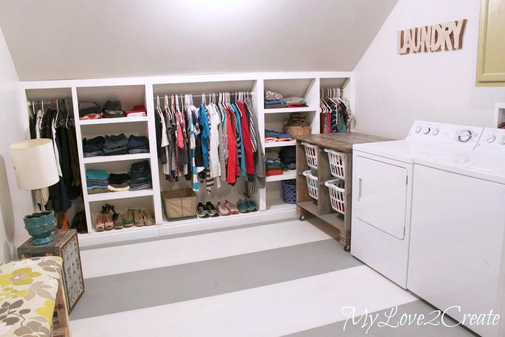 Image Of Laundry Room Makeover Organizers For Small E