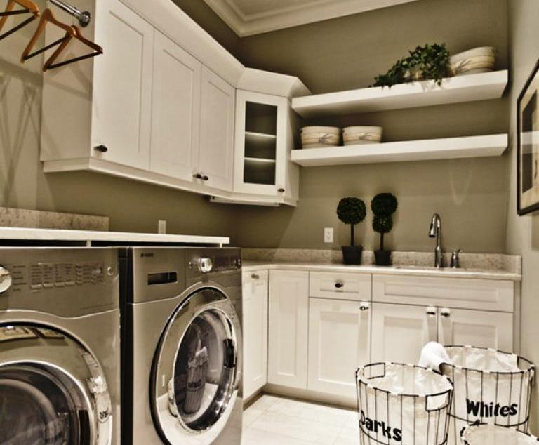 Image Of: Laundry Rooms Cabinets Ideas