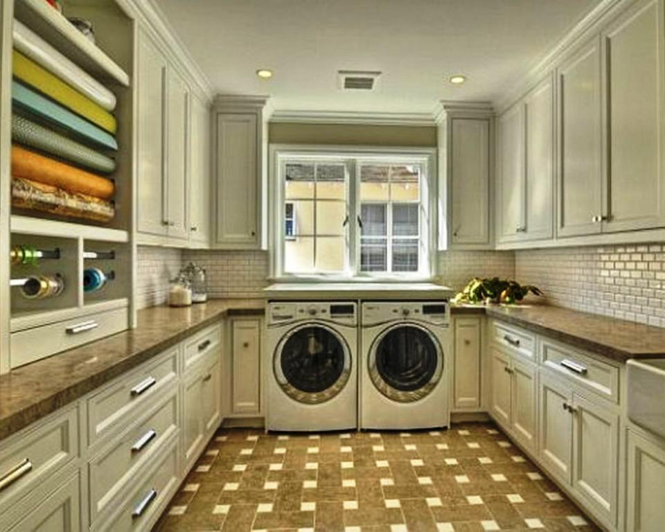 Image Of Laundry Rooms Floor Plans Decor Ideas