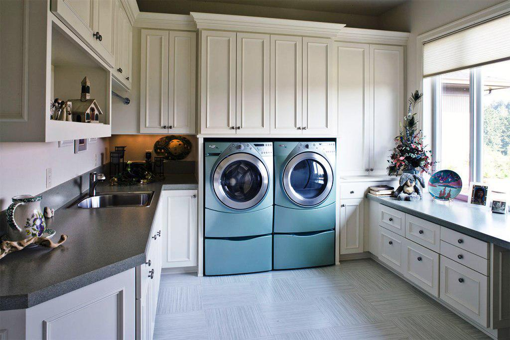 Image Of Laundry Rooms Layout Ideas